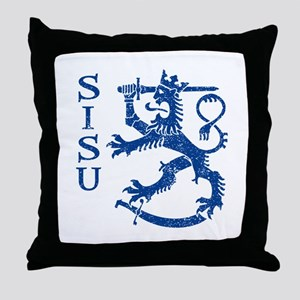 Sisu Throw Pillow